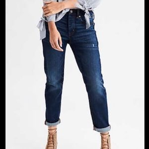 American Eagle slouchy stretch jeans size 4